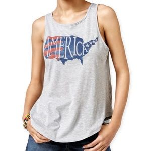 2Kuhl Womens America Envelope-Back Tank Top NWT